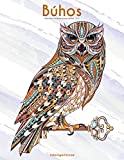 Búhos libro para colorear para adultos 1 & 2