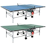 Butterfly Playback Rollaway Outdoor Table Tennis Table – 10 Year Warranty Top - 3 Year Warranty Frame – All Weather Ping Pong Table