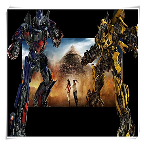 Juegos de Puzzles for Adultos y for niños, Animado de Transformers Optimus Prime Puzzles, 300 ~ 1000 Piezas en Caja Juguetes Arte del Juego P05/25 ( Color : A , Size : 300pc )