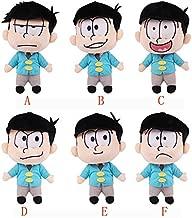 YOYOTOY Anime Osomatsu-San Figures Plush Doll Mats Jyushimatsu, Karamatsu ,Choromatsu, Ichimatsu ,Todomatsu Figure Plush Doll Toys Must-Have Gift Basket The Favourite Toys Superhero Toy Unboxing