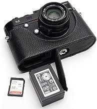 Handmade Genuine Real Leather Half Camera Case Bag Cover for Leica M M240 M240-P M246 M-P MM MP M262 Black Color