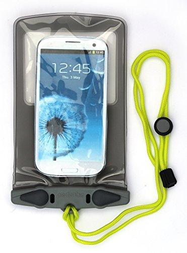 AQUAPAC wasserdichte Tasche Electronik, transparent/grau, Small, 348