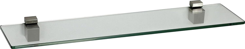 8mm 9 Gr/ö/ßen Klar |60 x 15 cm ib style/® Glasboden abgerundet
