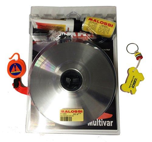 Malossi Multivar Next 2000 Variateur MHR pour Yamaha T-Max 500 2004 à 2011 avec porte-clés et bloque-disque offerts Référence 5114855