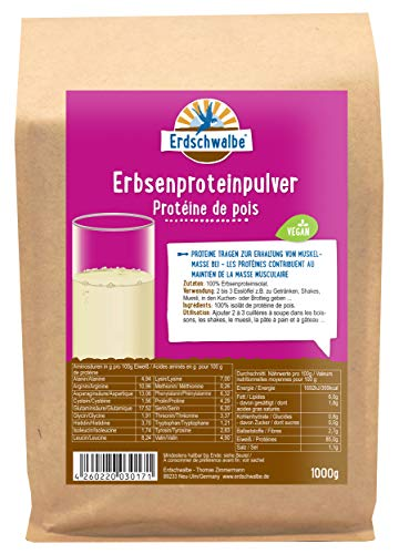 Erdschwalbe -   Erbsenprotein - 85%