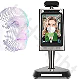 GODLV Sistema de imágenes térmicas sin contacto con la temperatura de la frente del cuerpo de reconocimiento facial de la cámara de control de acceso por infrarrojos de imágenes térmicas