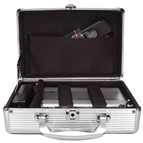 Preisvergleich Produktbild MediaRange Archivierungskoffer für 3.5 Festplatten-Laufwerke,  Aluminium-Optik,  silber