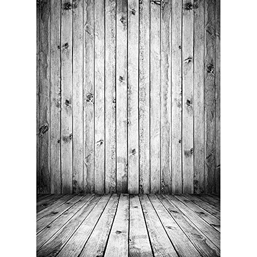 Fondo de fotografía de Textura de Tablero de Madera tablones de Madera Piso Baby Shower Photo Backdrops Studio Props A8 7x5ft / 2.1x1.5m