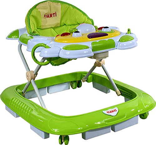 Andador para bebé Andador Actividades con mesa de juego - ARTI Vaca 05H - Verde