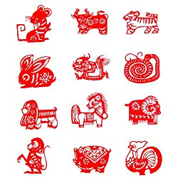 Chinese New Year Paper Cutouts