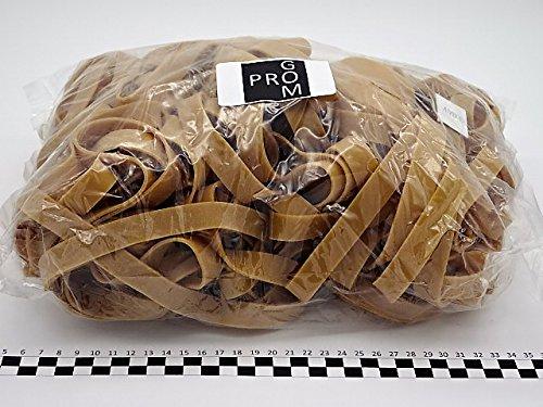Progom - Gomas Elasticas - 400(Ø255)mm x 15 mm - natural - bolsa de 1kg