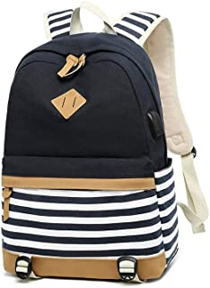 1 set Casual school bag for teenage girls college students purse for girls teens