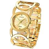 Reloj De Cuarzo para Mujer Modelos De Explosión Reloj para Mujer Reloj De Pulsera De Acero Inoxidable Moda para Mujer Reloj De Cuarzo Ebay One Generation Oro