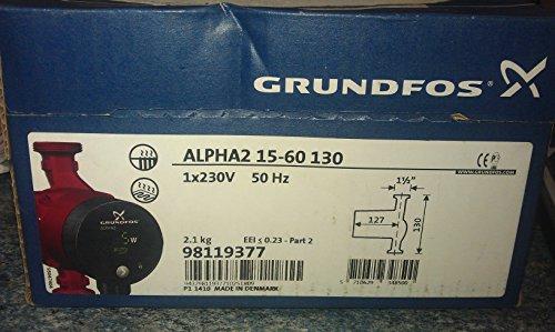 Grundfos 98119377 Pumpe Alpha2 15-60 130