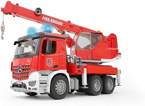 MB Arocs Feuerwehr Kran mit L&S