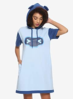 Her Universe Overwatch Mei & Snowball Girls Hoodie Dress Blue
