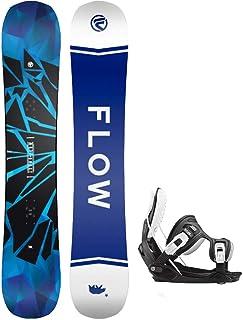 Flow 2021 Burst 159cm Men's Snowboard Stormtrooper Bindings