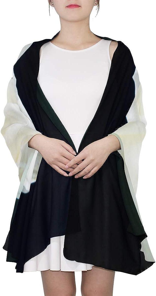 Womens Soft Scarf White Wedding Elegant Rose Kid Shawl Wrap Scarf Set For Girls Lightweight Print Scarves Fashion Scarf Modern Scarf