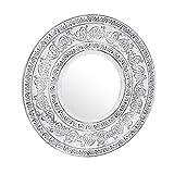 TIENDA EURASIA Espejos de Decoración de Pared. Diseños Modernos, adaptables a Cualquier Ambiente de tu Hogar. Medida : 40cm Aprox. (10)