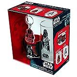 ABYstyle ABYPCK083 Star Wars Gift Box Tazza con Portachiavi e Bicchiere Darth Vader