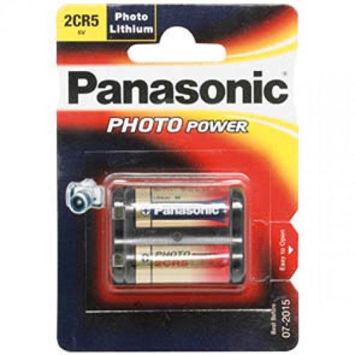 PANASONIC ELECTRONIC COMPONENTS Akku, LITHIUM 2CR5 6 V Foto - 2CR5M - PANASONIC elektronische Komponenten