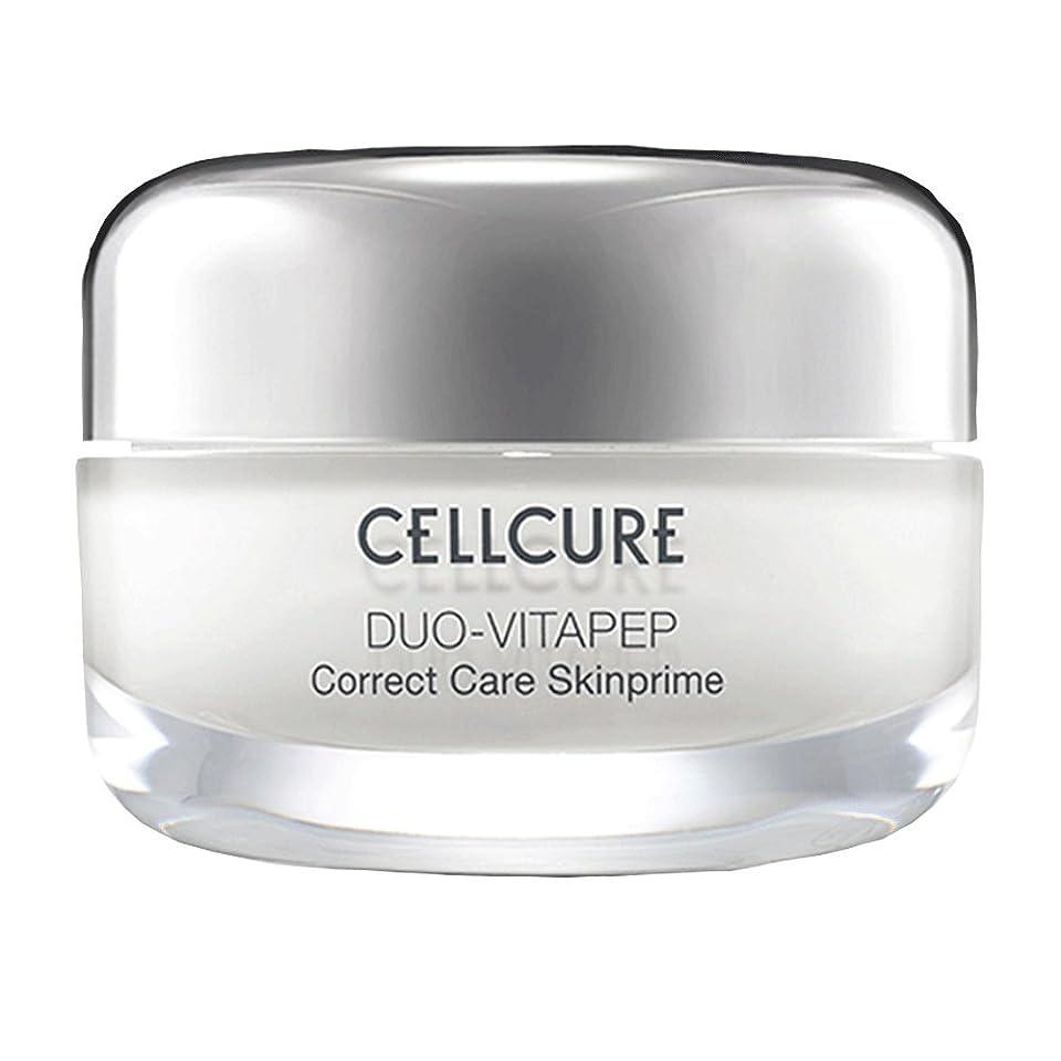 でる会社敏感なCELLCURE Duo-Vitapep skinprime cream