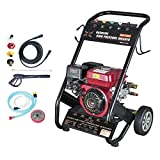 dirty pro tools™ Petrol washer Heavy Duty 170 BAR 2500PSI Petrol Driven Pressure Power Jet Washer