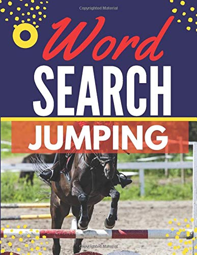 Jumping Word Search: Themed Activity Puzzle Book|Large Print Challenging activity book Puzzles For Adults Men ,women And Seniors & Teens With Soulitions .