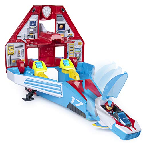 Paw Patrol, Super Paws, 2-in-1 Transforming Mighty Pups Jet...
