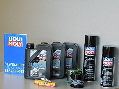 Kit d'entretien pour Honda CBR 500 Huile Filtre à huile Bougie d'allumage Service ölwechsel d'inspection