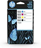 HP 932/933 4-pack Black/Cyan/Magenta/Yellow Original Ink Cartridges