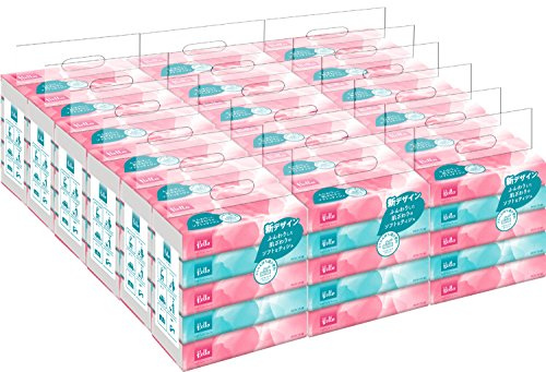 ハロー 8249 ソフトパックティシュ 2枚組 150組 5個1パック x 18パック入 【箱売り】