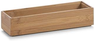 Zeller 13331 Caja para Poner Orden, Madera, Marrón, 23x7.5x5 cm
