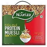 Nouriza(by Healthkart) Protein Muesli, with 16 gm Protein and 5 gm Fiber, 1