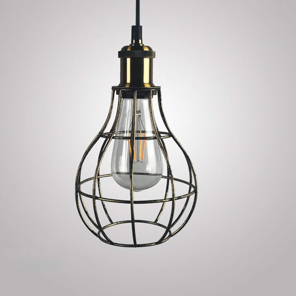 Farbe: A WYJW Einfache LED Kronleuchter Mode Moderne Glas Mini Beleuchtung Bekleidungsgesch/äft Kronleuchter Deckenleuchten Kreative Cafe Balkon Esstisch Pendelleuchte