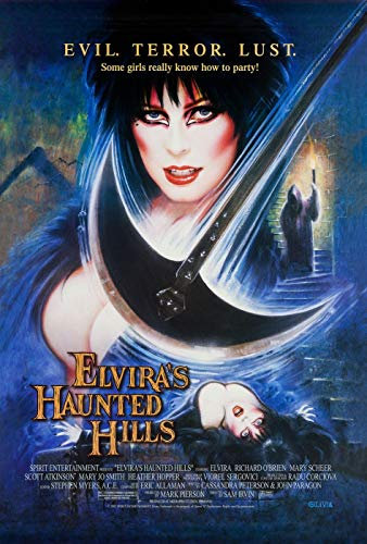ISSICARHO Elvira's Haunted Hills (2002) Movie Wall Art Pretty Poster Size 60cmx90cm(24