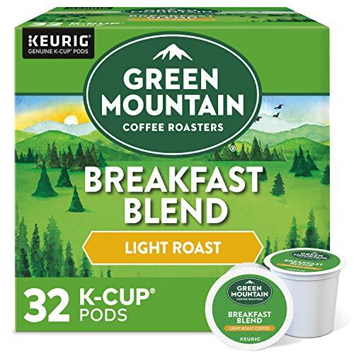 Green Mountain Coffee Roasters Breakfast Blend, Single-Serve Keurig...