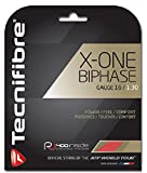 Tecnifibre X-One Biphase String de tennis Rouge 44 Rouge