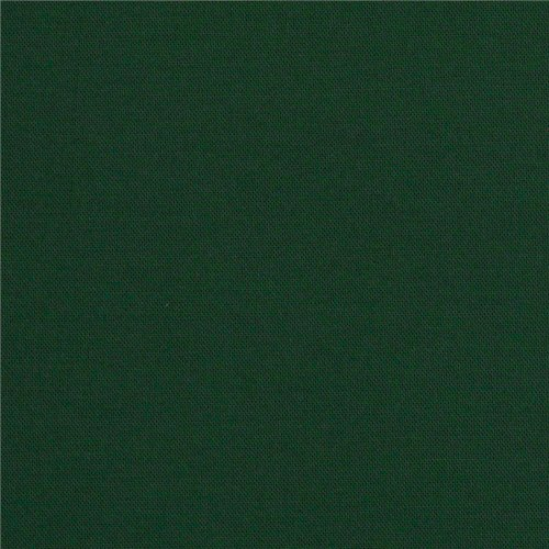 Kona Cotton Hunter Green, Quilting Fabric by the Yard