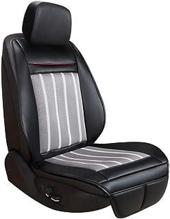 Cojín automóvil Organizador del asiento del automóvil Protector del asiento Cubiertas cojín asiento Verano hielo Cojín fresco Asiento Ventilación Amortiguador12v/24v ( Color : Black , Size : 12V )