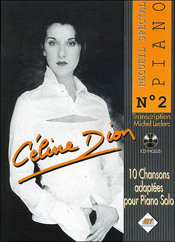 Celine Dion Piano N.2+CD