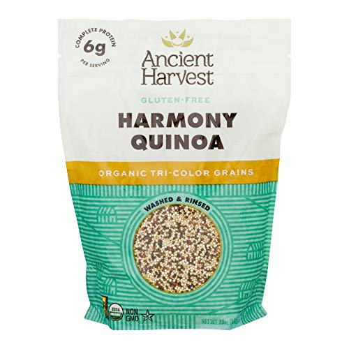 Ancient Harvest Harmony Blend Organic Quinoa, 23 Ounce Bag, Essential Whole Grain Mix Packed with 6...