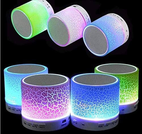 Mini Classical Wireless Bluetooth Speaker Led with Bluetooth/Pen Drive/Memory Card/FM Connectivity 1
