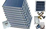 10 panel solar waTER heater