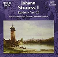Strauss: Edition Vol. 20 (Various Johann Strauss) (MARCO POLO 8225340) by Slovak Sinfonietta (2011-12-13)