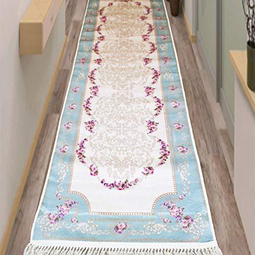 Brillant Teppich 80 x 300 cm eckig Läufer rutschfest pflegeleichttop Qualität Fashion 806