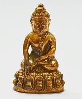 Thai Souvenir Thai Buddha Phra Kring Mong KOL PRA Tead (Thailand Mong Kol)thai Amulet #47991