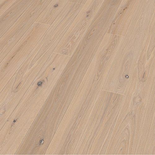 Floor Art Elements Eiche relief weiß LHD 2200x182x14mm, Loc5G, öl, 1-Stab (2,402m²/ Pack), 82,47 € / m², 198,09 € pro Verpackungseinheit