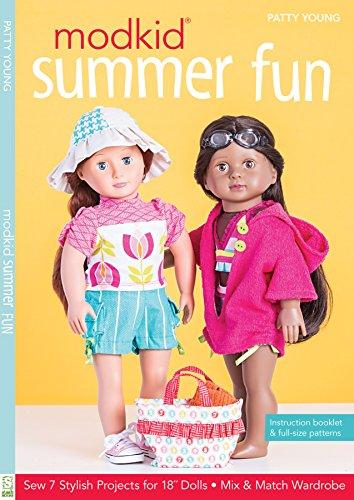 Modkid Summer Fun: Sew 7 Stylish Projects for 18' Dolls - Mix & Match Wardrobe