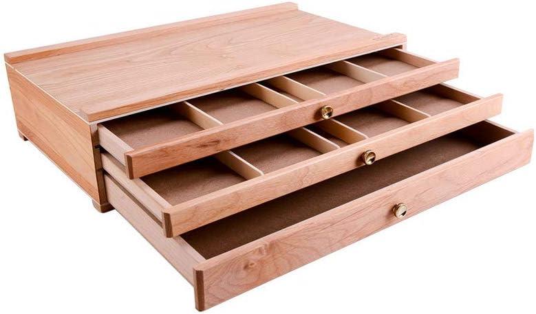 Art Supply Elegant Entweg Portable Box New arrival Storage Wooden Desktop